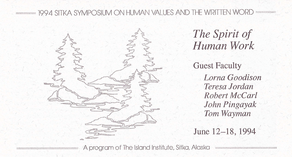 11th Annual Sitka Symposium