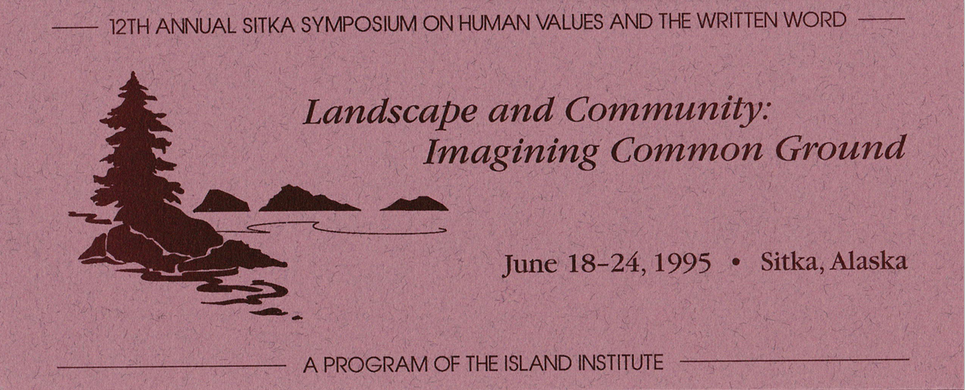 12th Annual Sitka Symposium